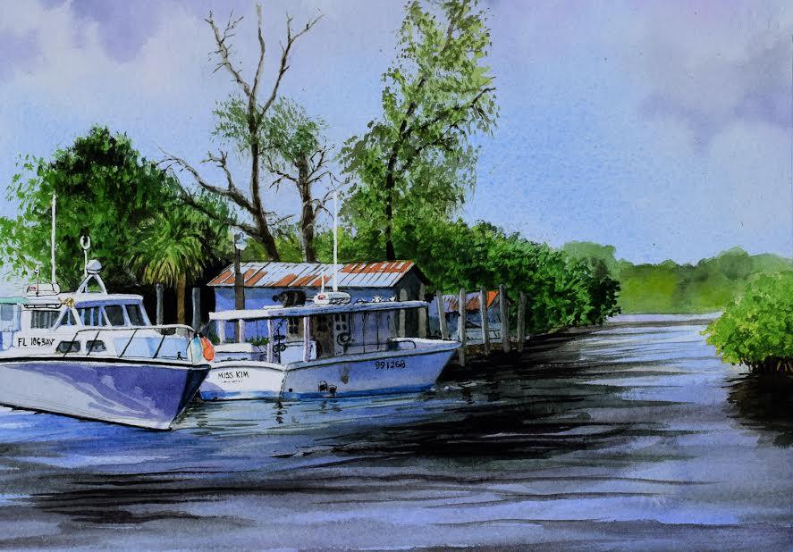 Anclote River by John Bayalis