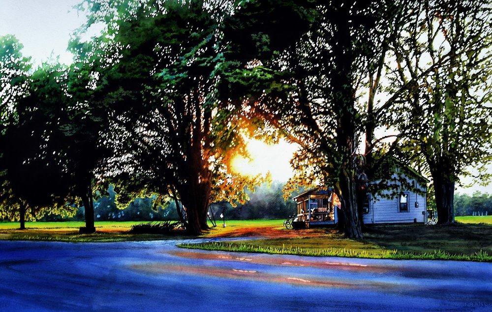 Last Days of Summer by John Bayalis
