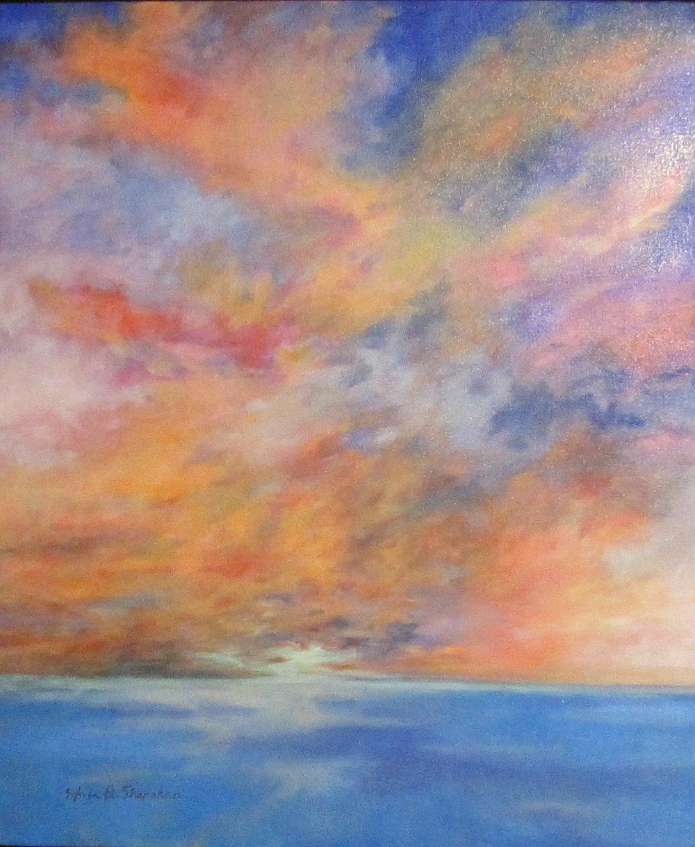 Indian Rocks Sunset 18 by Sylvia Shanahan