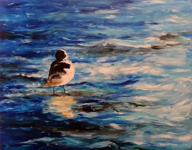 The Sandpiper by Ninon Chrysochoos