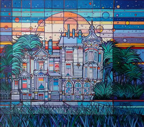 Palm House by Rick Yearick