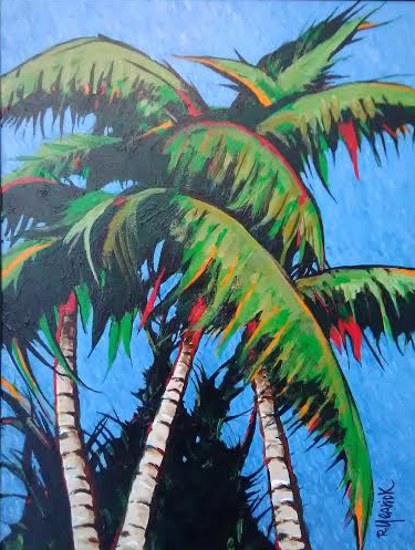 Palms at Escapada by Rick Yearick