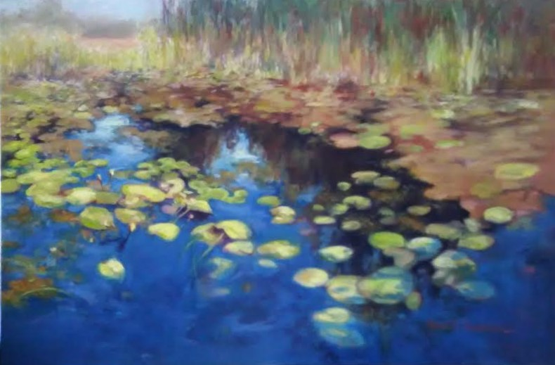Ophelia's Pond Revisited by Sylvia Shanahan