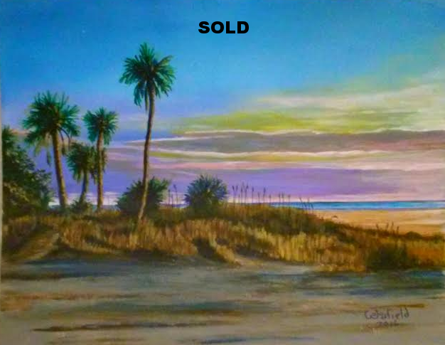 Treasure Island Evening by Jim Woodfield