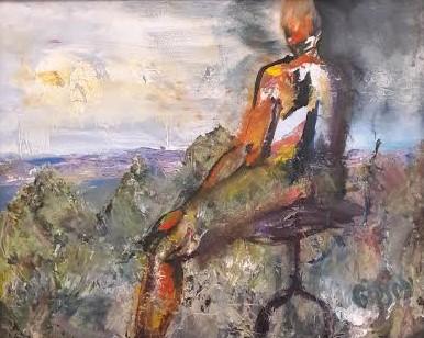 Contemplation by Martha Gipson