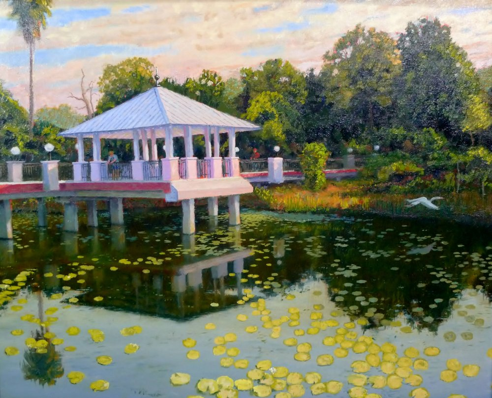 """McKay Creek Pavilion"" by Charles Gray"