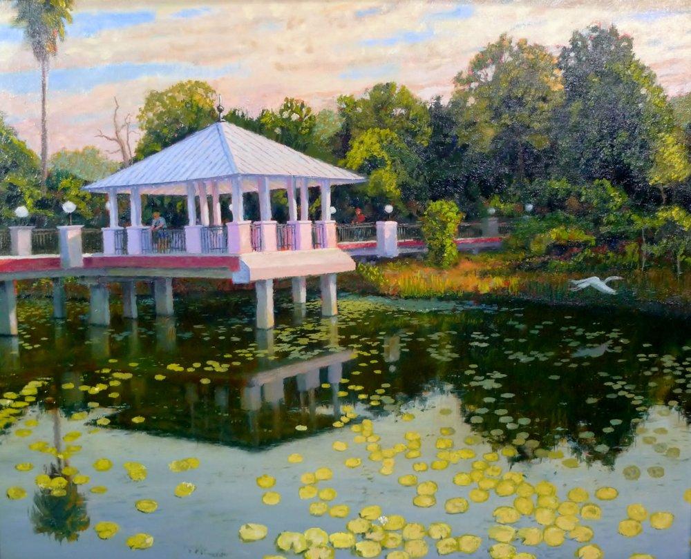 """McKay Creek Pavilion"" by Charles Gray"