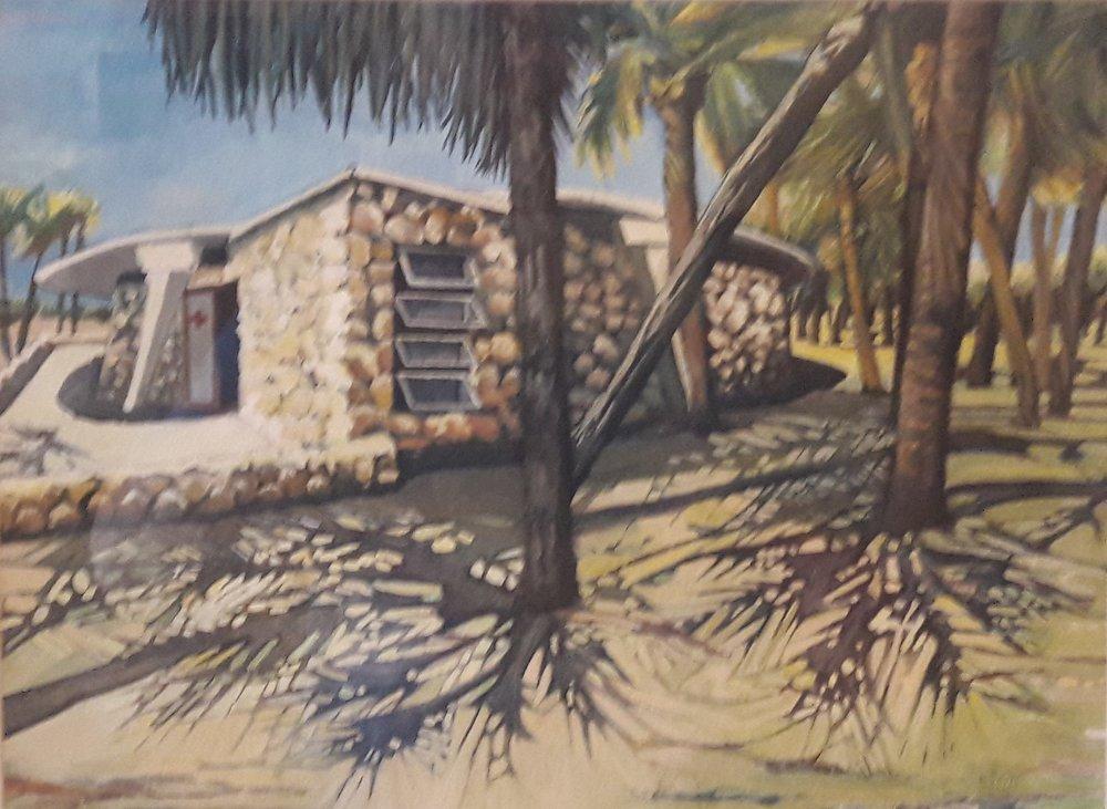 Fort DeSoto Life Guard Station by Melissa Harasz