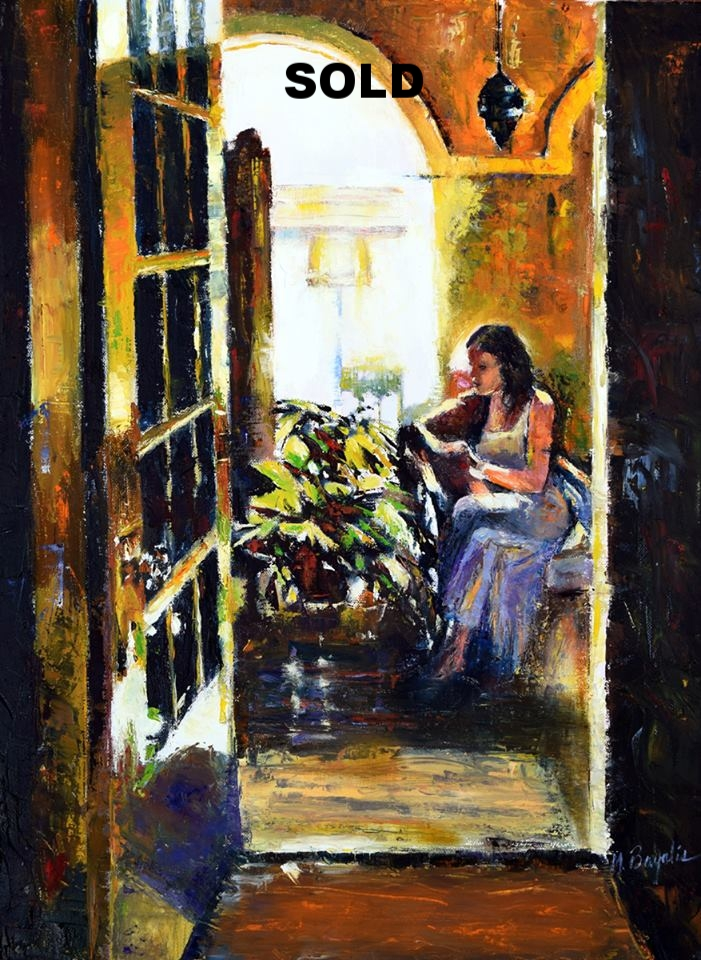 The Open Door by Margaret Bayalis