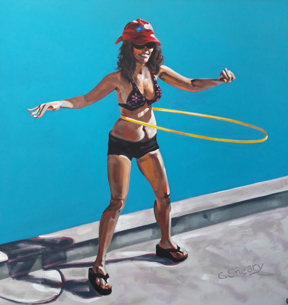 Hula Hoop by Curt Sneary