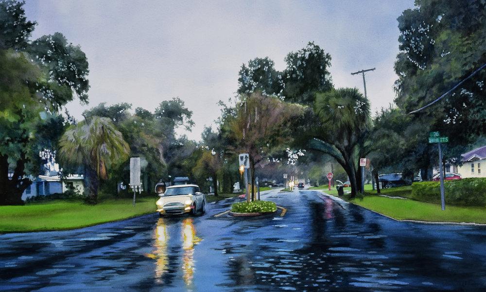 Thunder Storm by John Bayalis