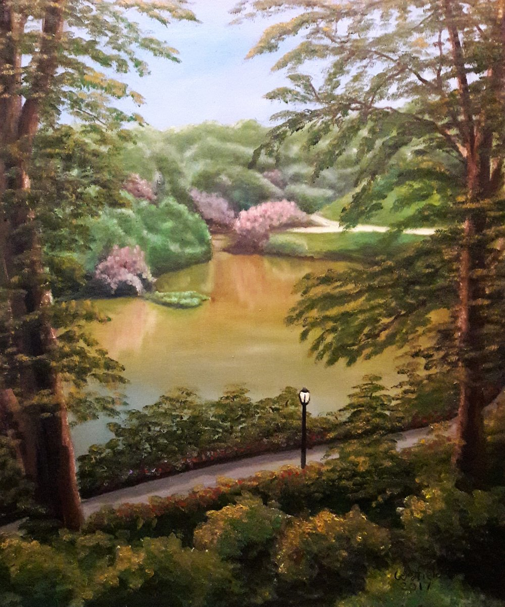 59th Street View of Central Park by Jim Woodfield