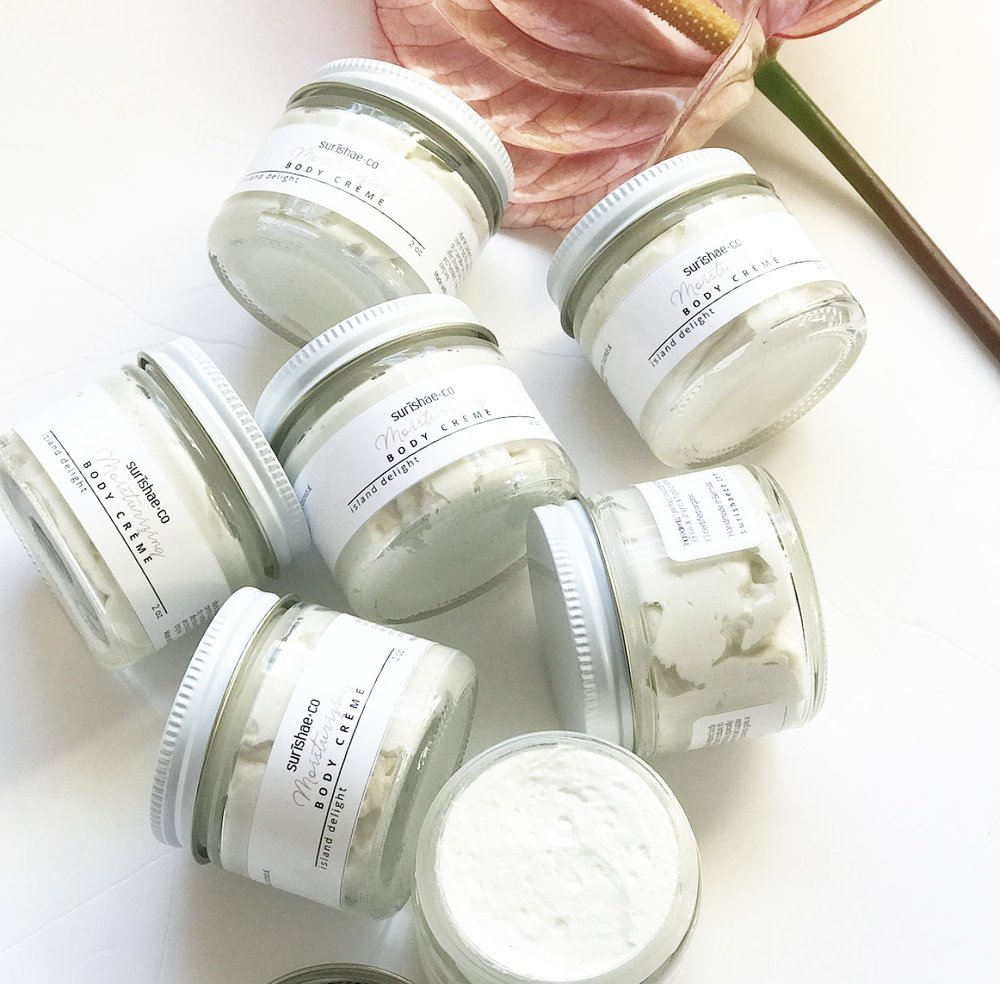 SHOP ESSENTIAL BODY PRODUCTS THAT ARE ORGANIC. - INDULGE YOUR BODY WITH WONDERFUL SCENTS RANGING FROM COCONUT TO LAVENDER & ISLAND DELIGHT. YOUR BODY WILL THANK YOU LATER.