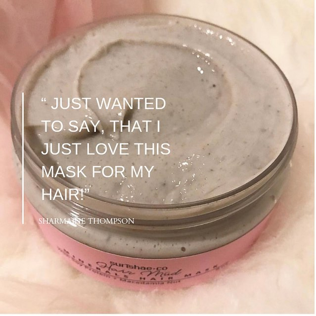 🥰 We're so happy with the feedback so far on our new Hair Mud Mask! Have you tried it yet? #hairmudmask The essential minerals and nutrients your hair needs!