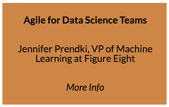 Agile for Data Science Teams  Who is this Presentation for?   Chief data officers, data executives, and data science managers Prerequisite knowledge Familiarity with Agile methodologies and data science management (useful but not required)   What you'll learn: Understand why managing data teams is different from managing engineering teams Learn how to adapt the planning methods and techniques that work in software engineering for data science Description Since the publication of the Manifesto for Agile Software Development in 2001, Agile methodologies have been adopted by a majority of tech companies and have unquestionably revolutionized the tech industry and its culture. Agile's huge success is hardly a surprise: Agile development came as a breath of fresh air at a time when the tech industry was crippled by the many inefficiencies caused by its own success. Back then, the Agile mindset was a panacea for tech's growing pains. However, the tech industry is now facing a new revolution: big data, machine learning, and artificial intelligence. The methodologies that were so beneficial to the field of software development seem inappropriate for data science teams, because data science is part engineering, part research. The speaker demonstrates how, with a minimum amount of tweaking, data science managers can adapt Agile techniques and establish best practices to make their teams more efficient. The speaker will start by discussing the Agile Manifesto in detail and reviewing the reasons for its major success in software engineering. She then outlines the different ways that organizations set up their data science initiatives and explains in which ways these teams differ or are similar to software engineering teams. The speaker then concludes by detailing how to adapt traditional Agile methodologies to create a powerful framework for data science managers and shares tips on how to allocate resources, improve best practices, and tweak the usage of planning and organization tools for the benefit of data teams.