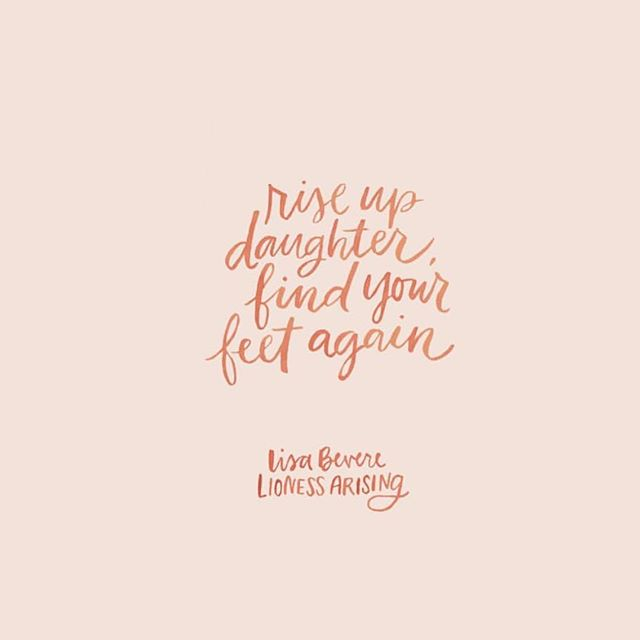 "Love this artwork from @andrearhowey  and this quote from @lisabevere ""You are not meant to hide in the dark and hope for an escape. You are meant to be a bearer of light and hope. You are meant to be an unbeatable, unconquerable, and unshakeable daughter of Zion. Even now I hear, 'Rise up, daughter, find your feet again! God wants you invincible!' ... Each and every day you have the power to choose whether to be attentive and focused or dull and distracted. It is high-alert time, because our God is poised. He is in position to make right what is wrong in this world. He is primed and ready and assured of victory. When God Most High gives the signal, will you, like the lioness, be strong, limber, and ready to pounce? Allow the Holy Spirit to assess your strength in the light of God's Word, and allow hardship to become a training session, knowing you might rise up from it invincible."" #empoweringwomen #getafteritgirl #daughtersofgod #godlywomen #zealouswomen #illustratedfaith"