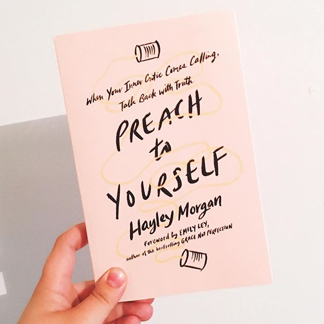 A week from today this beauty hits the shelves!! @hayley.e.morgan writes with an authority and vulnerability that is refreshing! And this isn't just a book it's a word from heaven that every woman needs to hear👏🏼👏🏼 That every woman needs to pick up and preach to themselves and spread the word to others😻😻😻😻 #preachtoyourself #preachtothedughters #preachtothechoir #illustratedfaith #empoweredwomenempowerwomen #amoderndayruth #shereadstruth #sheislight #jesusgirl #womenoffaith #gritandgrace #gritandvirtue #propelwomen