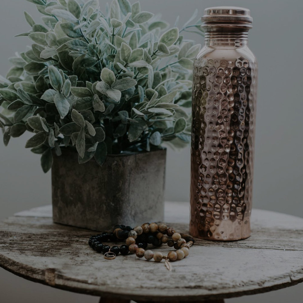 Copper Water Bottle - A bottle that gives back.