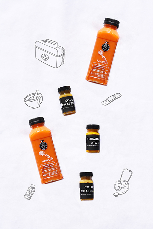 Kick that cold to the curb with the Jusu Flu Pack!