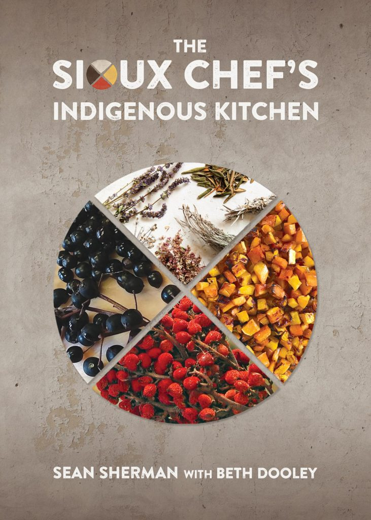 Recipe contribution in the Sioux Chef's Indigenous Kitchen Cookbook