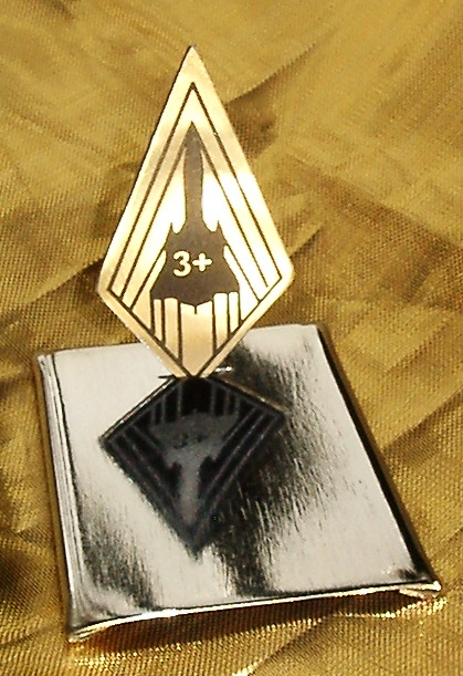 SR-71 Titanium MACH 3+ Diamond Patch Display