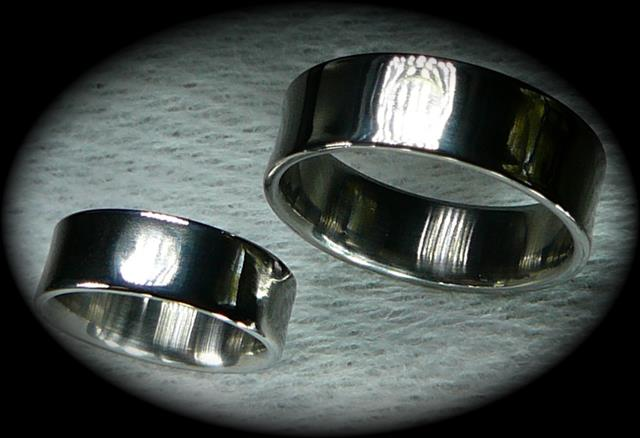Hi Dan, Our rings arrived a few days ago and they are fantastic!  They are extremely comfortable to wear and look great.  My wife and I are privileged to be a part of this important piece of military history.  This is particularly symbolic for my wife whose dad was an SR 71 pilot out at Beale AFB.  We will both wear them proudly. Thank you, Michael and Lori Blake