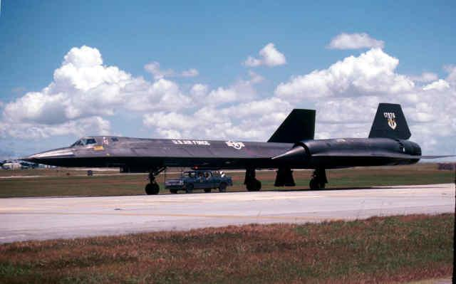 Ssgt Bob Bragg -photo of SR71A, 617976