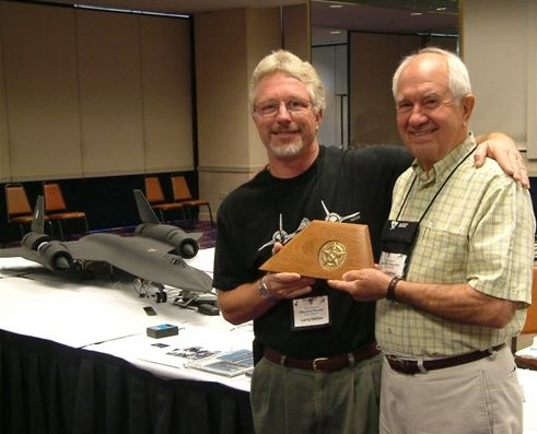 In 2007, Larry DeCew's (one off) sculpture of an A-12 Rudder holding the CIA Star of Valor was presented to Hall of Fame inductee and A-12 / SR-71 Pilot Ken Collins During the Blackbird Reunion in Sparks, Nevada See this link-- http://roadrunnersinternationale.com/collins.html
