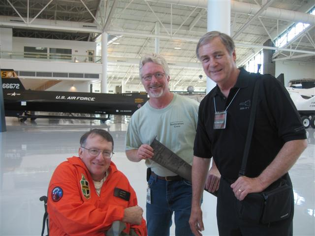 Larry Johnson, Larry Decew, SR-71 Pilot BC Thomas