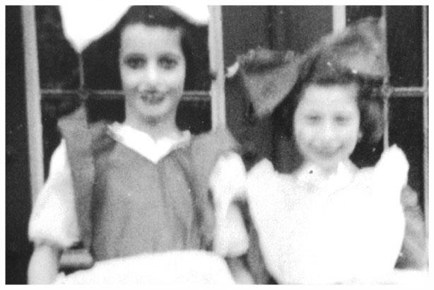 Rosel Klein - Auderghem 1947 (Purim)