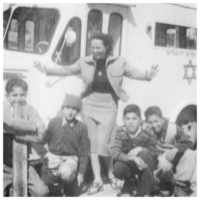 Eva in Israel c. 1952