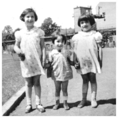 Ruth, Rosel, Eva - Berlin 1938