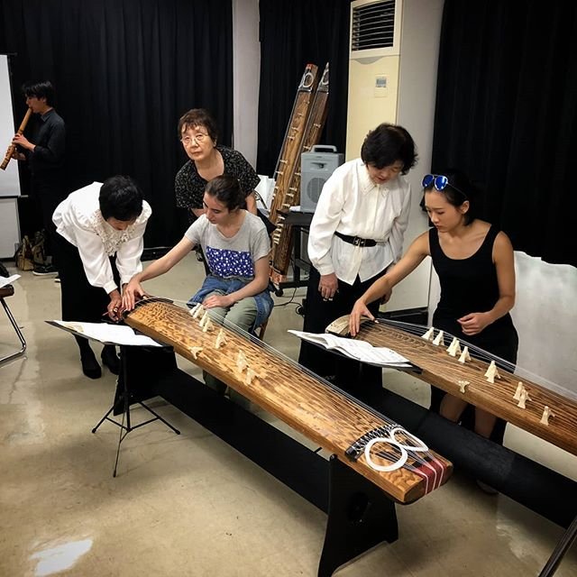 Some current JS students participated in a local koto event this weekend!  #japanstudy1963 #japanstudy #studyinjapan #studyintokyo #tokyostudyabroad #japanstudyabroad #studyabroad #留学 #留学生 #留学生活 #日本留学 #東京留学 #koto #文化交流 #琴 #culturalexchange #日本伝統