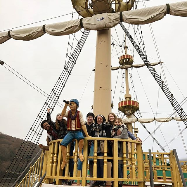 Recently, some of our students went on a trip to Hakone with the Resident Director and had a lot of fun, despite the cold weather.  #japanstudy1963 #japanstudy #studyinjapan #studyintokyo #tokyostudyabroad #japanstudyabroad #studyabroad #留学 #留学生 #留学生活 #日本留学 #東京留学 #日帰り旅行 #箱根 #箱根旅行 #箱根っていいよね