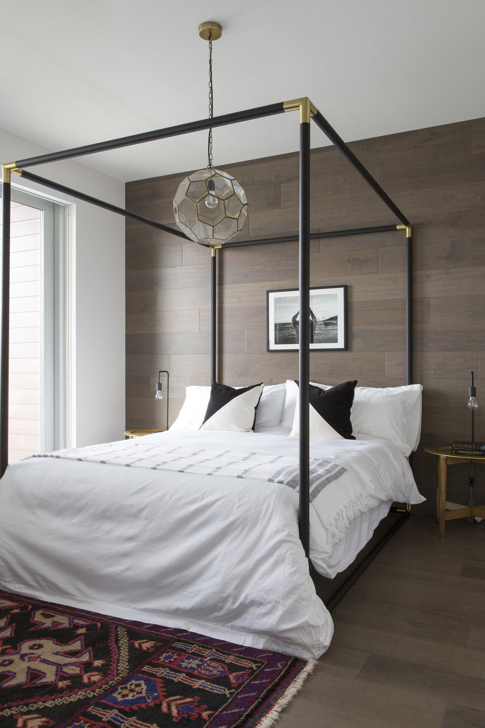 Jordan Interiors // Modern Eclectic Virtual Interior Design // Modern Boho Bedroom
