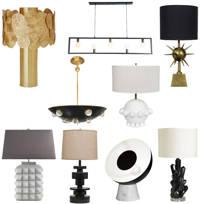 Fall Decor Trend Forecast // Jordan Interiors // Modern Eclectic Glam Home Decor