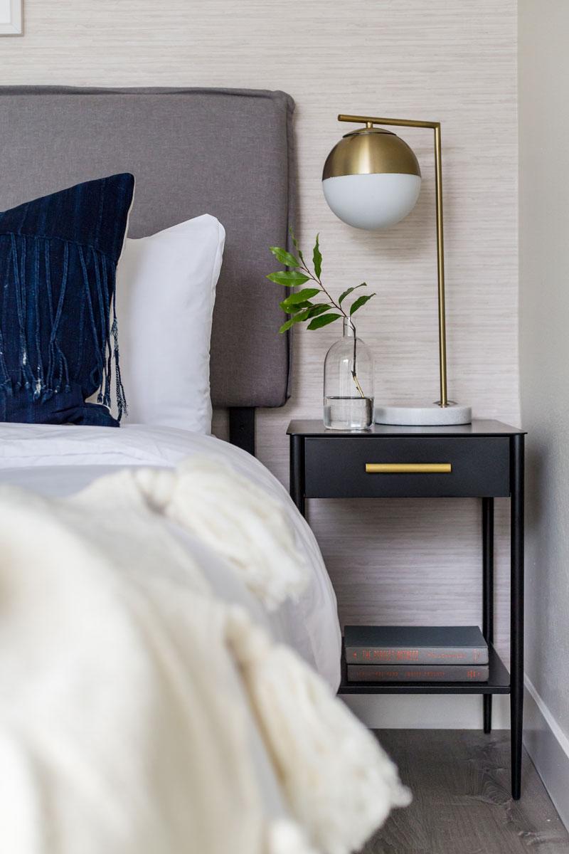 Modern Boho San Diego Bedroom //  Jordan Interiors
