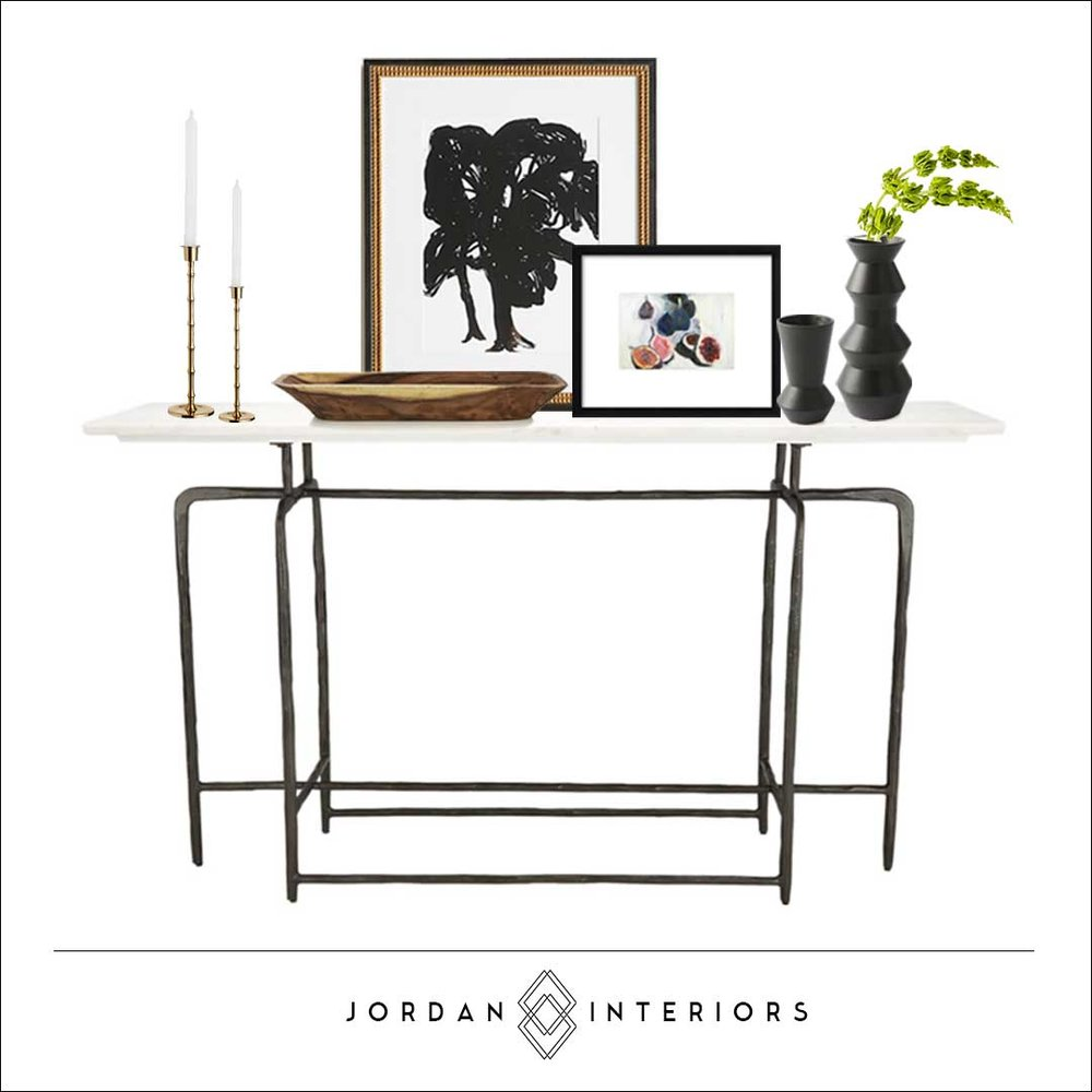 Attirant Jordan Interiors // Modern Eclectic Online Interior Design Services