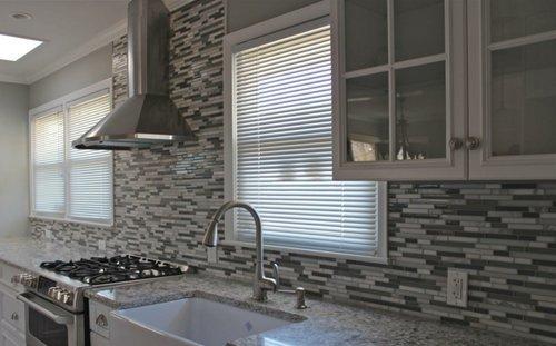 estos azulejos no son porosos por lo que la limpieza no resulta para nada complicada y adems es de las opciones ms econmicas podrs darle a tu cocina - Azulejos De Cocina Modernos