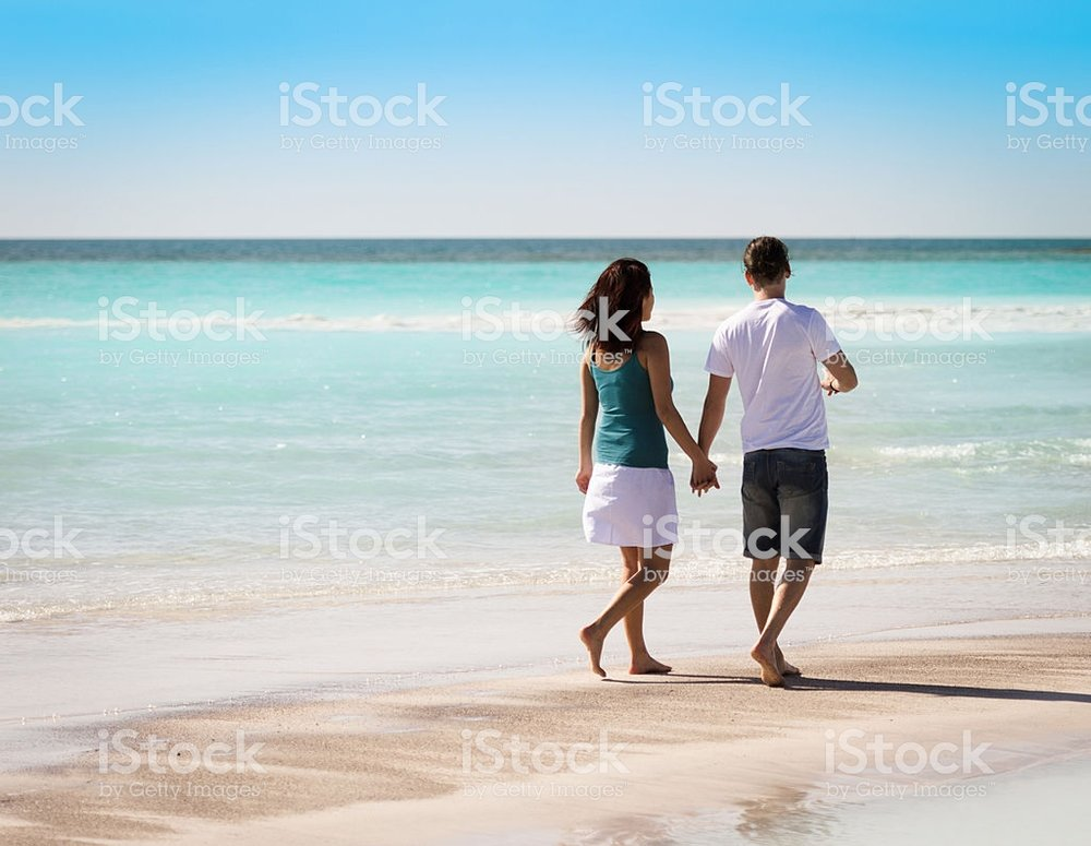 This is my favorite from iStock and reminds me of my first book. I love the couple walking hand in hand.