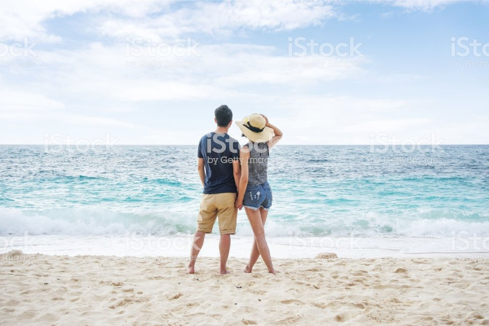 This is my second favorite from iStock but I'm concerned the woman's shorts may be too short and I don't want to trigger any readers.