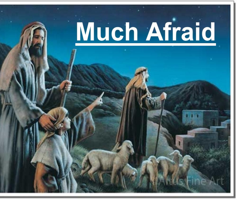 Much Afraid!