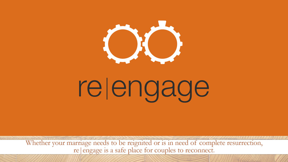 RE|ENGAGE is a marriage enrichment program