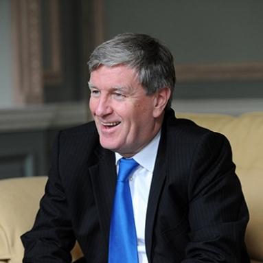 Ambassador Daniel Mulhall - Home Country:Ireland Host community:Kansas City, MO