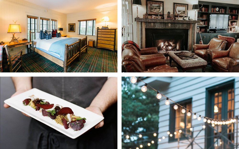 Accommodations - Enjoy your stay at a lodge at the foot of the Great Smoky Mountains with 5-star cuisine and comfortable amenities.