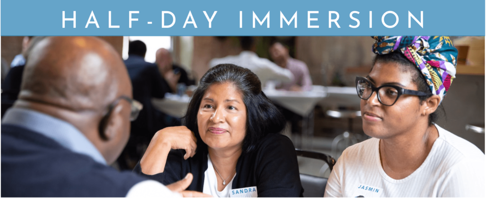 1 bannner half day immersino Leadership Development Experience immersion community.png