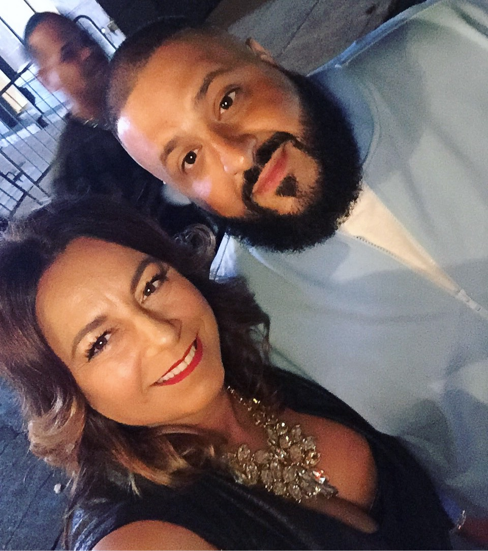 Selma Fonseca and DJ Khaled