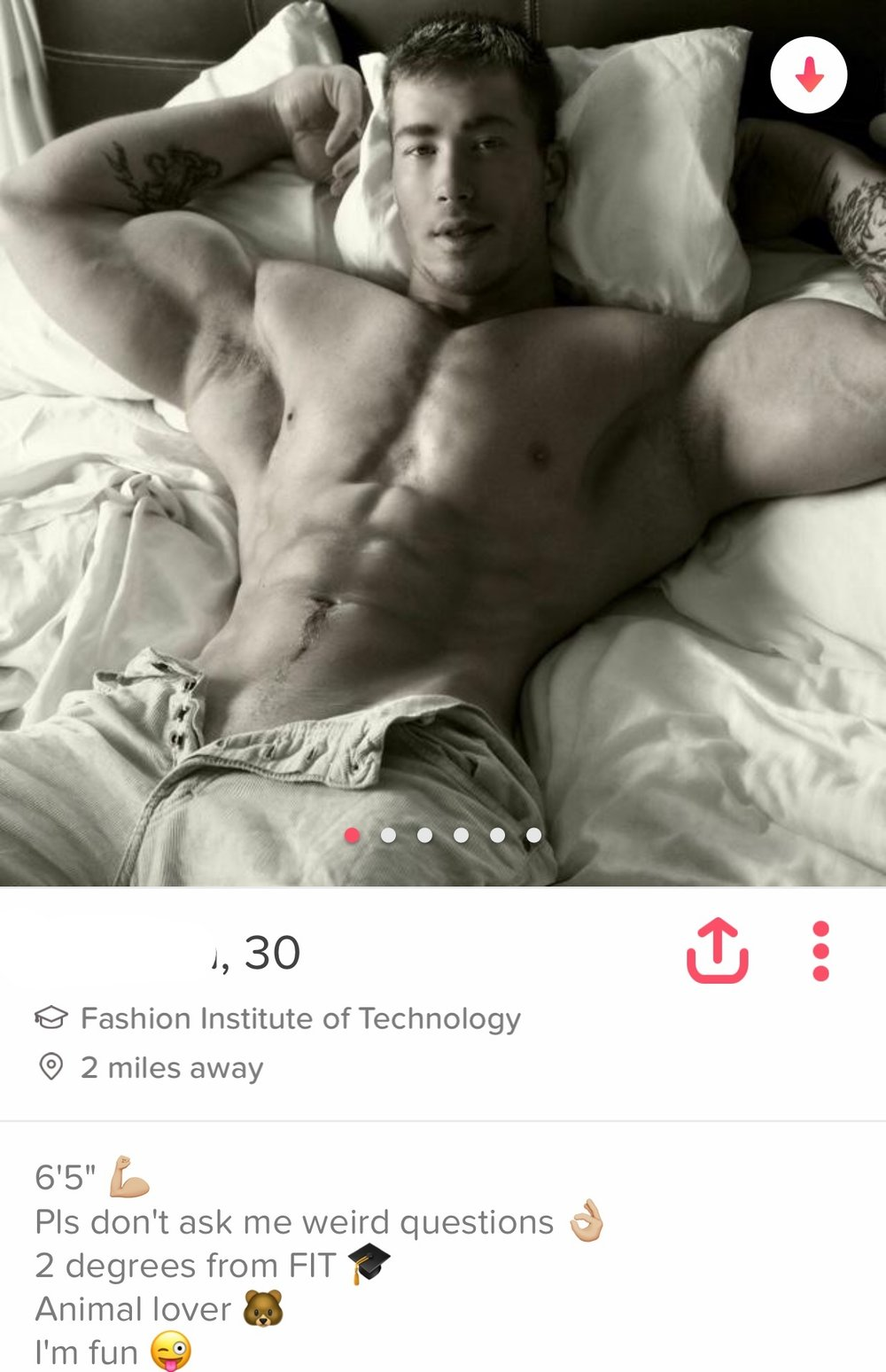 - He is HOT, but do you think this guy wants to have a serious relationship?