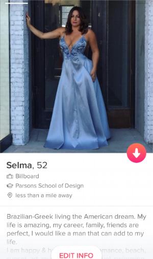 My Tinder profile