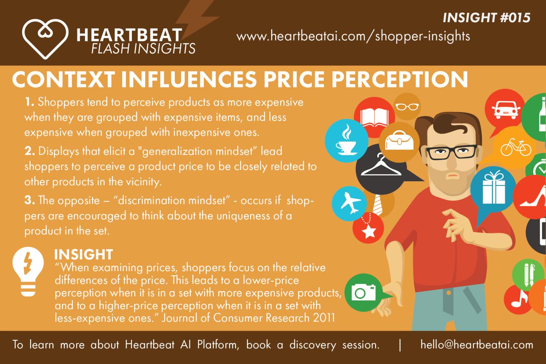 4589f97af3c #15 - Context influences price perception — Heartbeat Ai Technologies